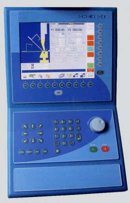 Pulsantiera per controlli CNC